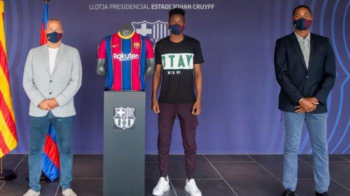Barcelona Datangkan Pemain Usia 18 Tahun Asal Senegal, Moussa Ndiaye Perkuat Jantung Pertahanan