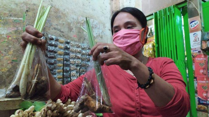 Paket Mpon-mpon Antivirus Corona di Pasar Wage Purwokerto Dijual Rp6 Ribu, Laris Diburu Warga