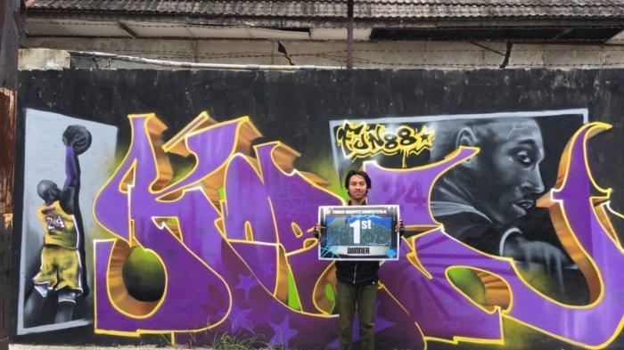 Para Bomber di Semarang Gelar Aksi Tribute to Kobe Bryant, Jalan Protokol Jadi Lebih Berwarna