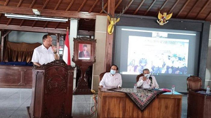 Selamat, Wakil Bupati Sadewo Tri Lastiono Terpilih sebagai Ketua PMI Banyumas Periode 2021-2026