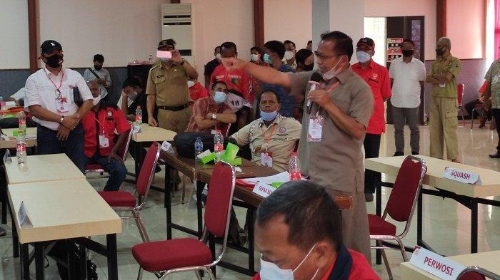 Sempat Diwarnai Ketegangan, Musorkab Putuskan Bambang Setiawan sebagai Ketua KONI Banyumas 2021-2025