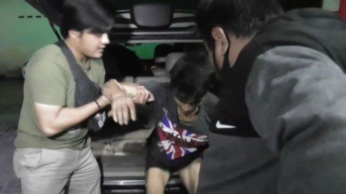 Lagi, Napi Asimilasi Ditembak Polisi, Rampas Handphone Warga, Pelaku Sudah 4 Kali Masuk Penjara
