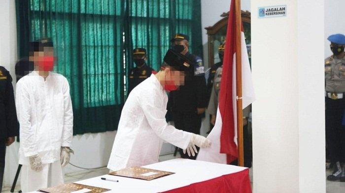 38 Napiter Nusakambangan Mengucap Ikrar Setia ke NKRI, KemenkumHAM Jateng: Keberhasilan Luar Biasa