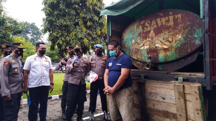 Panca Ditangkap Saat Ngerit Solar di SPBU Gondang Kendal, Disebutnya Juga Libatkan Oknum Polisi