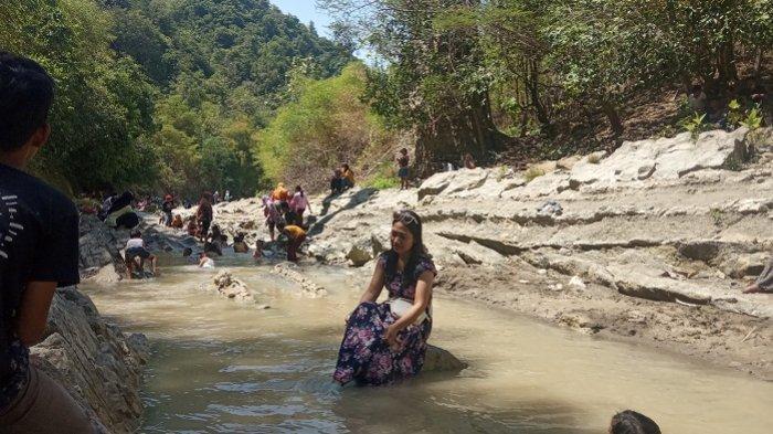 Segarnya Bermain Air di Watu Lempit, Destinasi Wisata Alam Baru di Mranggen Demak