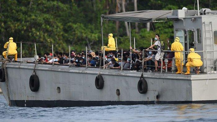 Istana Update Kondisi Ibu Hamil di Pulau Sebaru, Hari Keenam Observasi ABK World Dream
