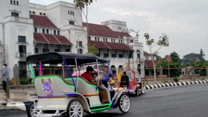 Pemilik Odong-odong di Kota Tegal Diberi Waktu Sebulan, Ubah Spesifikasi Jadi Sepeda Wisata