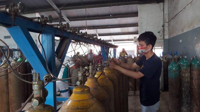 Sebulan Capai 20 Ribu Tabung, Data Permintaan Oksigen Wilayah Pantura Barat Jateng