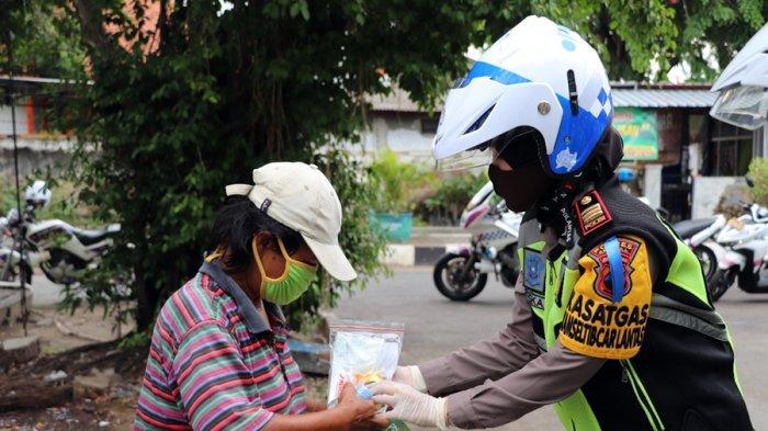 Polres Kendal Merazia Orang Lapar, Sasaran Tukang Becak dan Penyapu Jalan
