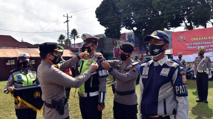 Mengedepankan Edukasi Protokol Kesehatan - Sasaran Operasi Patuh Candi 2021 Polres Wonosobo