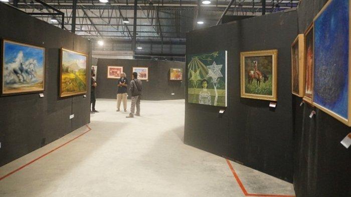 6 Pelukis Purbalingga Ramaikan Imlek Art International Exhibition, Pameran Diikuti 7 Negara
