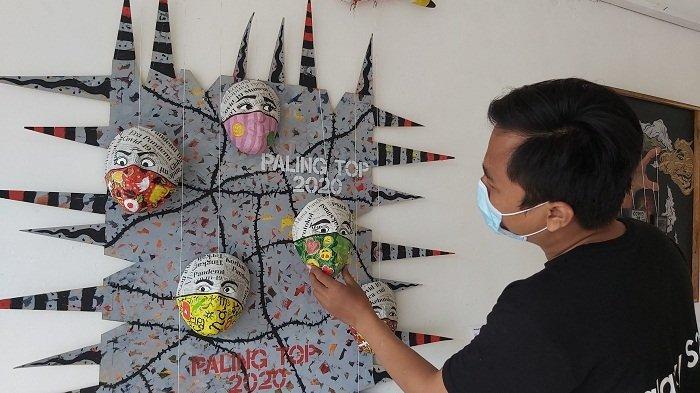 5 Berita Populer: PKL Alun-alun Simpang Tujuh Kudus Bakal Direlokasi-Pameran Seni Covid di Tegal
