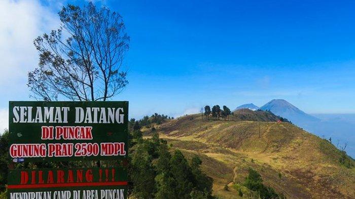 Jalur Pendakian Gunung Prau Via Igirmranak Wonosobo Dibuka, Simak Protokol Kesehatannya