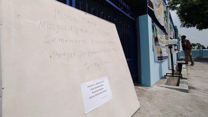 Ada Jemaah Positif Covid-19, Masjid di Jaten Karanganyar Ditutup 10 Hari