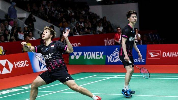 Ganda Putra Indonesia Marcus/Kevin Pastikan Diri Lolos Olimpiade 2020