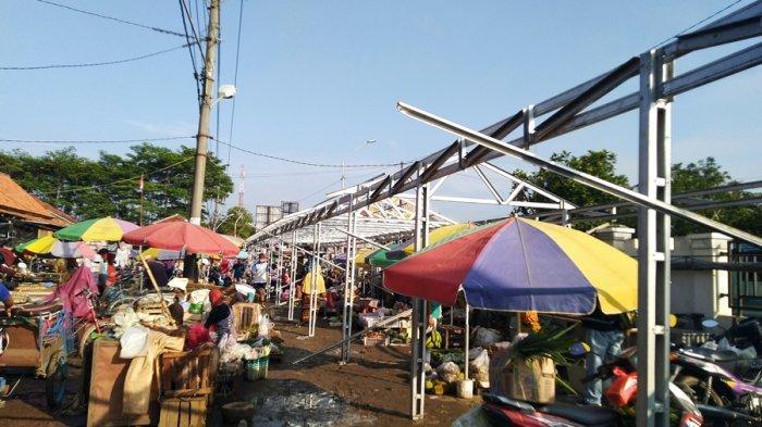 Akhir Pekan Ini Pasar Darurat Srogo Kendal Mulai Difungsikan, Nasib Pedagang Lesehan Belum Jelas