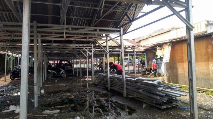 Pasar Darurat Weleri Tahap Awal Selesai Akhir Februari, Disdag Kendal: Ada 600 Pedagang Aktif