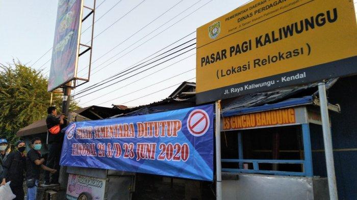 Pasar Pagi Kaliwungu Kendal Ditutup Sementara Hingga Selasa, Penyebabnya Sama Seperti di Gladak
