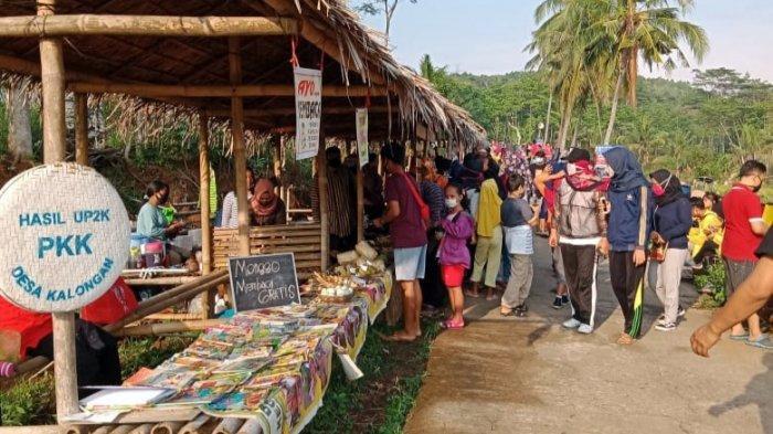 Sudah Dibuka Kembali di Kabupaten Semarang, Pengunjung Pasar Sawahan Wajib Pakai Masker