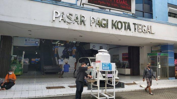 Besok Jumat di Kota Tegal, 13 Pasar Tradisional Ditutup Sehari, Penyemprotan Disinfektan Serentak