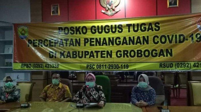 Dua Hari Meningkat Drastis di Grobogan, 21 Warga Tiga Kecamatan Terkonfirmasi Positif Covid-19