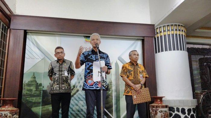 Ganjar: Mulai Senin 27 April Warga Semarang, Kendal dan Demak Tak Gunakan Masker akan Ditindak Tegas