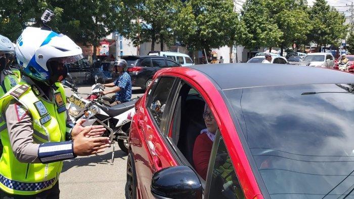 Empat Pengendara Kena Tilang Elektronik, Parkir di Jalan Pancasila Kota Tegal