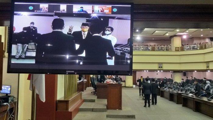 Anton Lami Suhadi Sudah Disumpah Janji Sebagai Anggota Dewan, PAW Fraksi Golkar DPRD Jateng