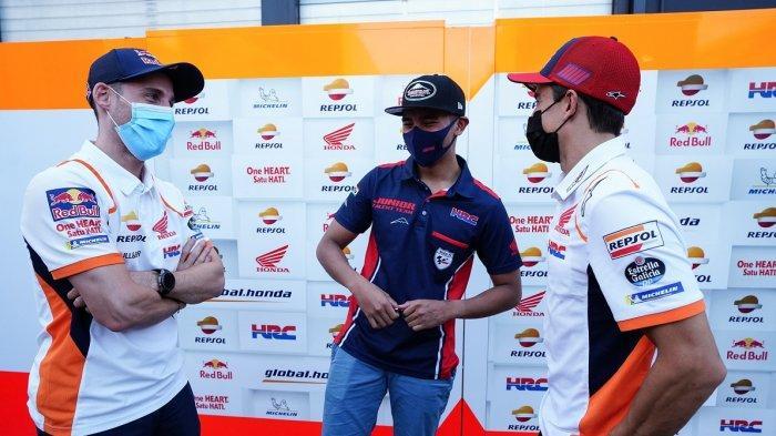 Inilah Momentum Mario Bertemu Marc Marquez dan Pol Espargaro, Pebalap AHRT Dapat Petuah Ini