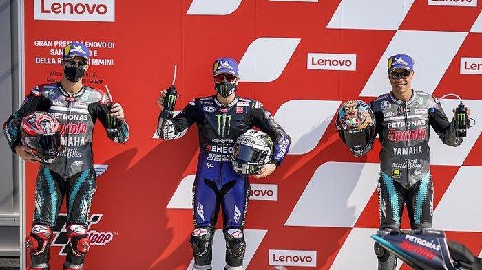 Deretan Atas Starting Grid MotoGP San Marino Didominasi Pebalap Yamaha, Sinyal Juara?