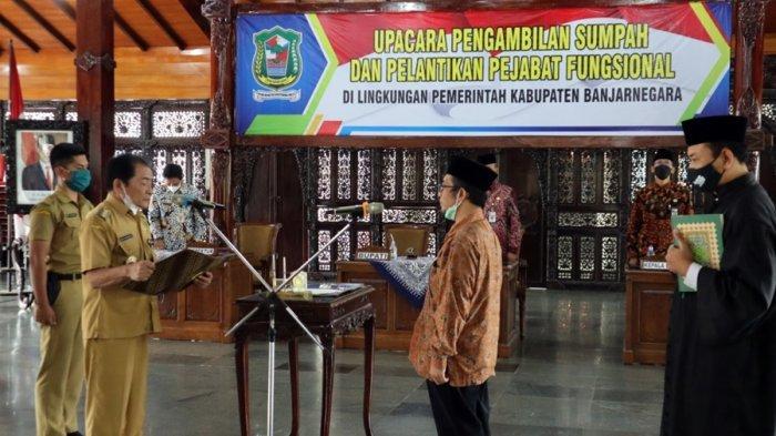 103 Pejabat Fungsional Dilantik, Bupati Banjarnegara: Bekerjalah Profesional Sesuai Bidang Tugas