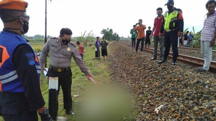 Mudakir Tewas Tertabrak KA Argo Dwipangga saat Berjalan Kaki Menyeberang Rel di Pejagoan Kebumen