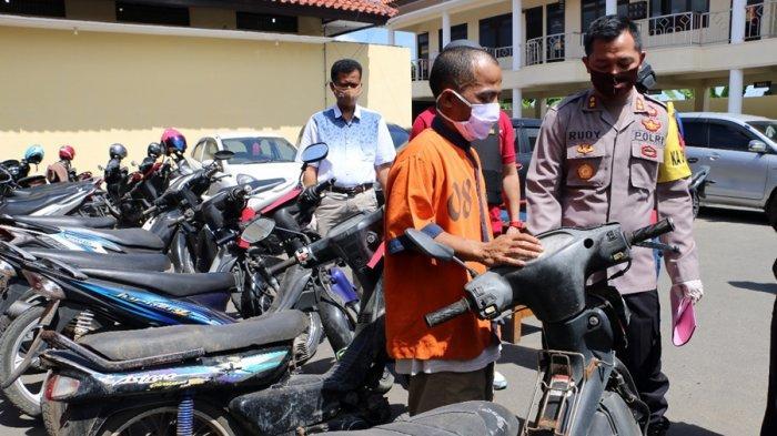 Cuma Sekejap Motor Poniji Hilang Dicuri, Sekadar Ambil Sisa Rumput di Tepi Sungai Dolang Kebumen