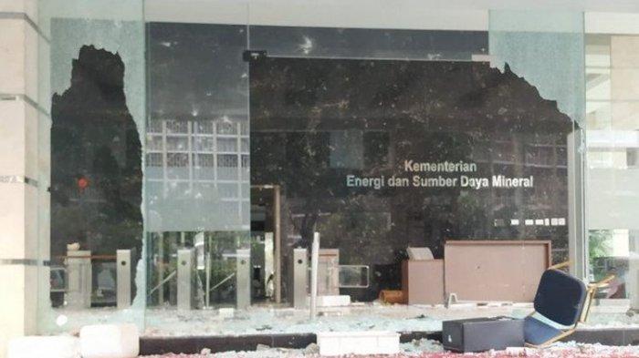 Pelaku Pengrusakan Kantor Kementerian ESDM Tetap Ditahan Meski Masih di Bawah Umur