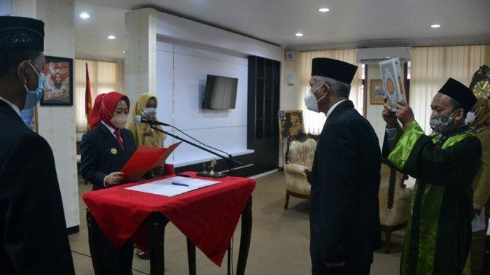 Agus Winarno Dilantik Sebagai Pj Sekda Kabupaten Purbalingga
