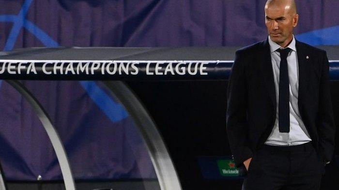 Hasil Survei, Fans Ingin Zidane Mundur sebagai Pelatih Real Madrid setelah 5 Kali Kalah di 11 Laga