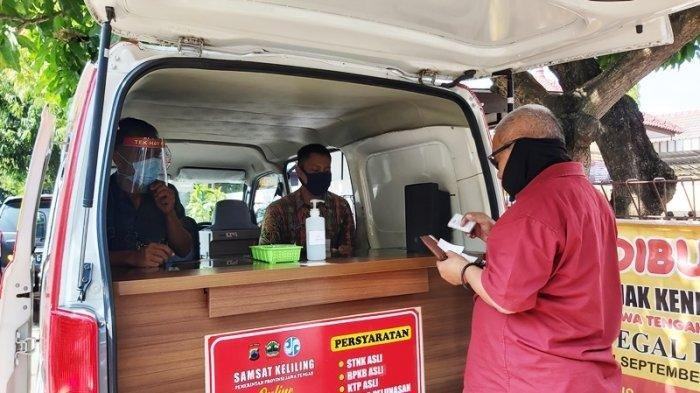 Jadwal Samsat Keliling Kota Tegal Hari Ini, Buka di Kecamatan Margadana dan 3 Tempat Lainnya