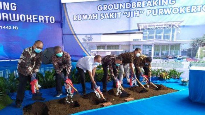 Peletakan Batu Pertama Dilakukan, RS JIH Segera Hadir di Purwokerto