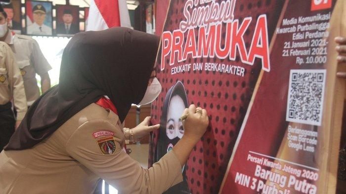 Tabloid Pramuka Pertama di Jawa Tengah, Simpul Pramuka Wadahi Karya Jurnalis Muda Purbalingga