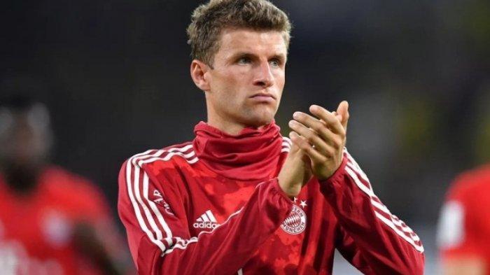 Laga Olympique Lyon vs Bayern Muenchen Jadi Pembuktian Thomas Mueller, Ini Link Live Streamingnya