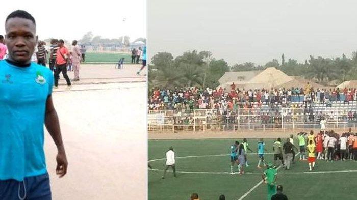 Pemain Sepak Bola Nigeria Ini Meninggal di Lapangan, Kolaps di Tengah Pertandingan, Ambulans Mogok