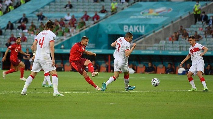 Hasil Euro 2020: Dihajar Swiss 1-3, Turki Harus Pulang Tanpa Poin