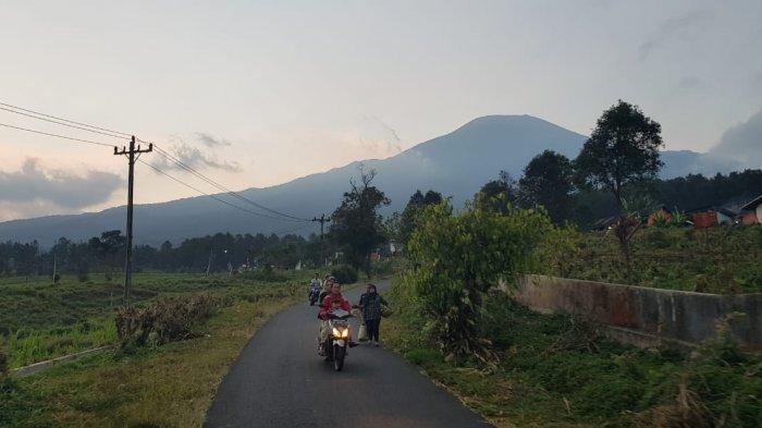 Gunung Slamet Terimbas Jateng di Rumah Saja, Jalur Pendakian via Bambangan Purbalingga Tutup 2 Hari