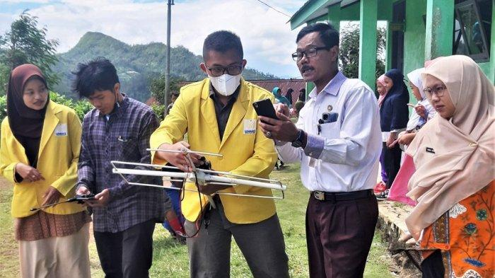 SD Terpencil di Banjarnegara Tak Lagi Terkendala Internet, Pembelajaran Gunakan Satelit LAPAN