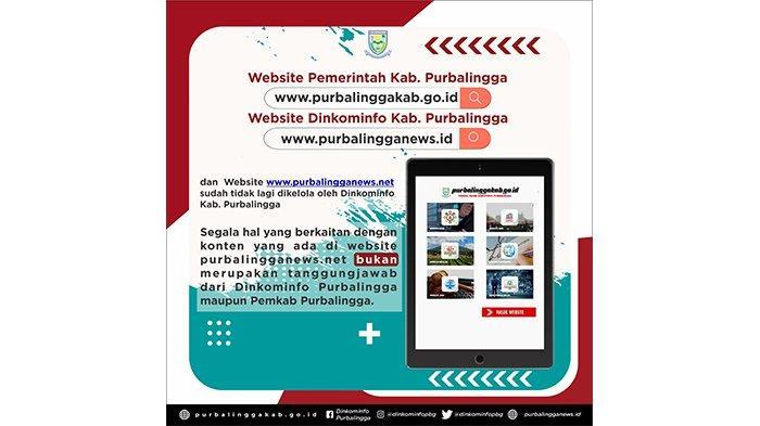 Purbalingganews.net Bukan Tanggung Jawab Dinkominfo Purbalingga, Sridadi: Sejak Akhir 2020