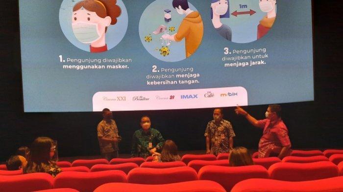 Mulai Dicek Penerapan Protokol Kesehatannya, Gedung Bioskop di Kota Semarang Segera Buka Lagi