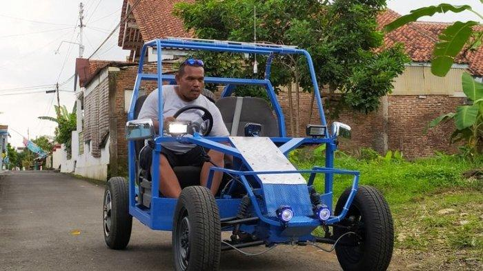 Pemuda Kober Ciptakan Mobil Listrik, Proposal Sempat Dicuekin Pemkab Banyumas, Begini Kisahnya