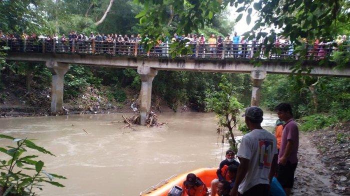 Warga Sempat Saksikan Khabib Tercebur di Sungai Kedungbener Kebumen, Pemuda Itu Dinyatakan Hilang