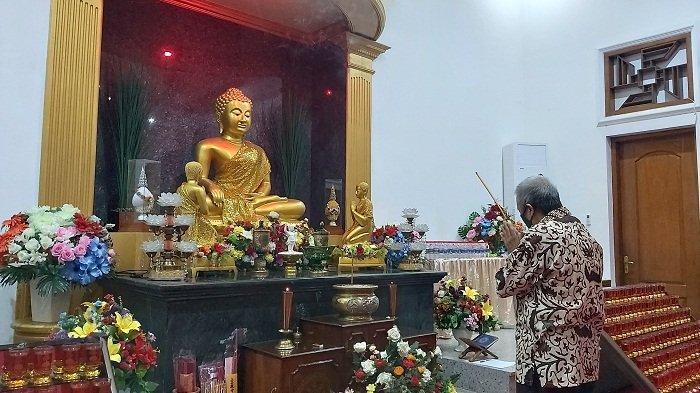 Perayaan Waisak di Kota Tegal: Umat Buddha Nyalakan Lentera Kebahagiaan Malam Nanti, Ini Maknanya