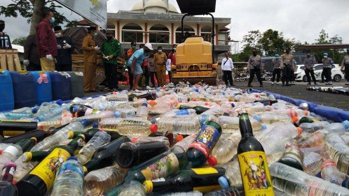 Awas Jangan Coba-coba, Bakal Ada Razia Miras dan Narkoba Jelang Tahun Baru di Temanggung